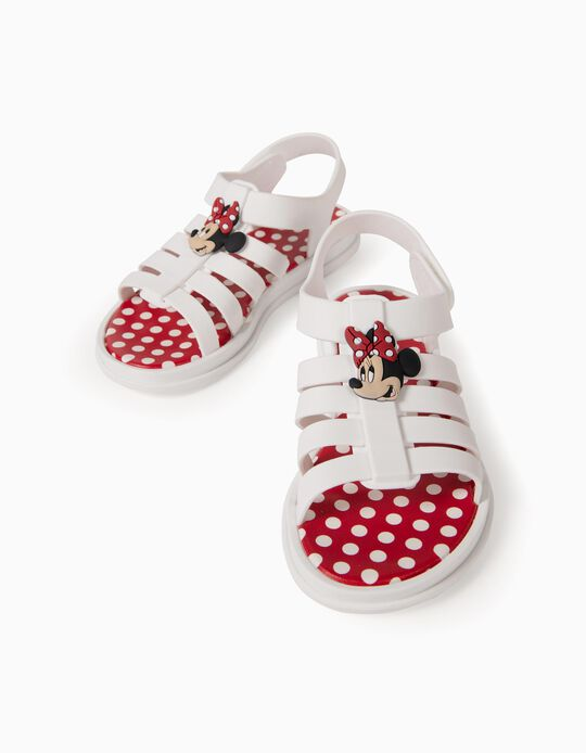 Sandals for Girls, 'Minnie Mouse ZY Delicious', White