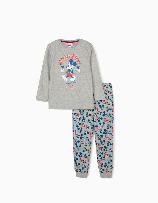 Pijama para Menino 'Disney Mouse', Cinza