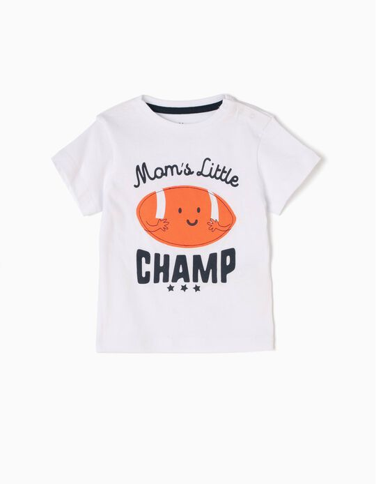 T-shirt Mama's Little Champ