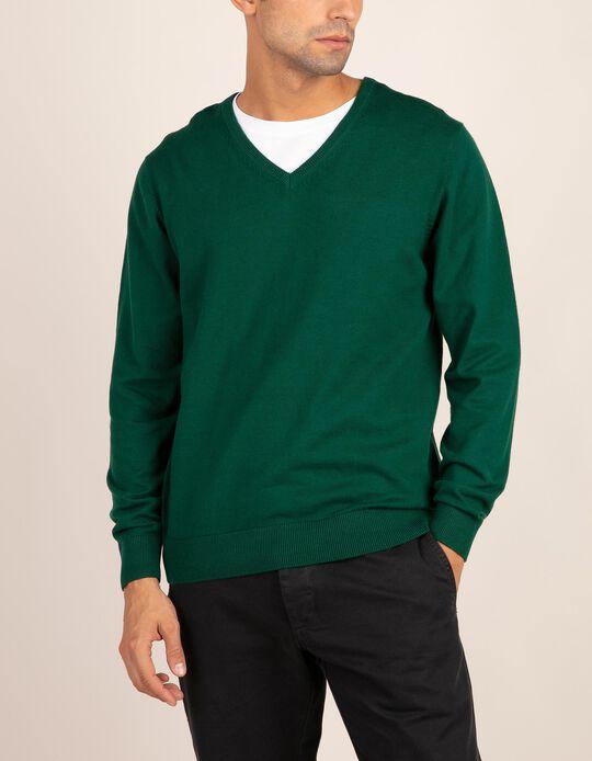 V-neck jumper, Essentials