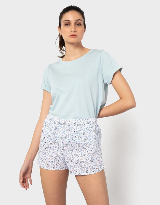 2 Pyjama Shorts, for Women