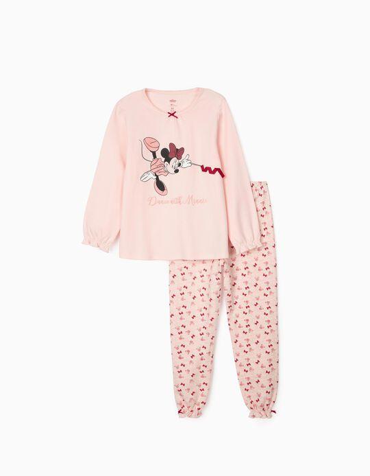 Pyjamas for Girls, 'Minnie Dance', Pink