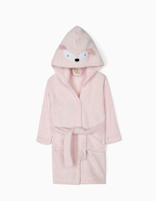 Fancy Hooded Dressing Gown