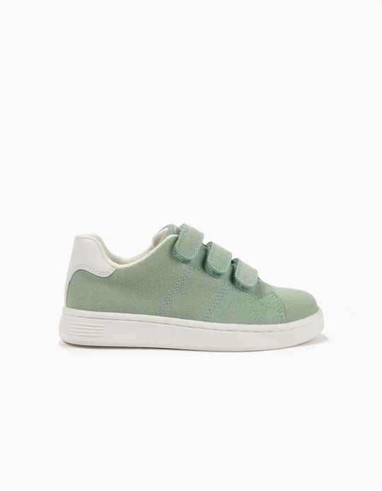 Sneakers for Girls 'ZY 1996', Green and White