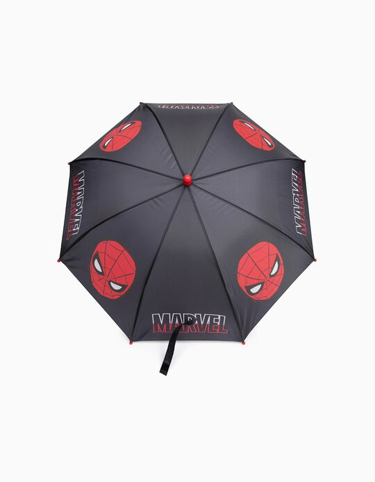 Umbrella for Boys 'Spider-Man', Black/Red