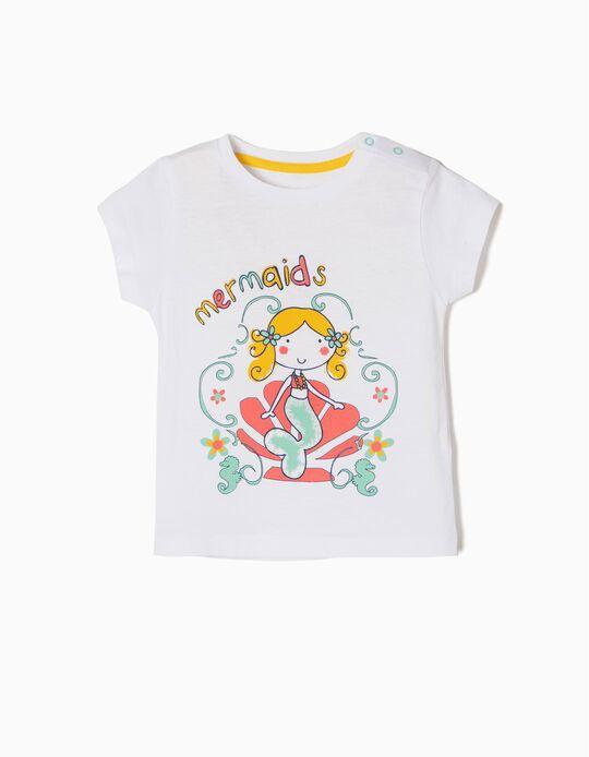 T-shirt Algodão Mermaids