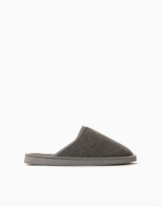 Bedroom Slippers for Men, Grey