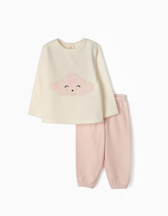 Polar fleece pyjamas Cloud