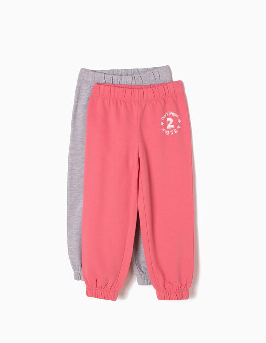 Pack of 2 Joggers, Don't Forget To Smile