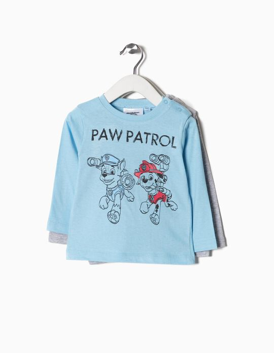 Pack 2 T-shirts Paw Patrol