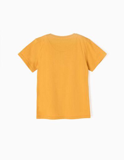 T-shirt Rowing Club Amarela