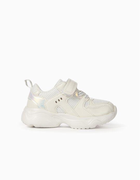 Sapatilhas Chunky para Bebé Menina 'Superlight Runner', Branco