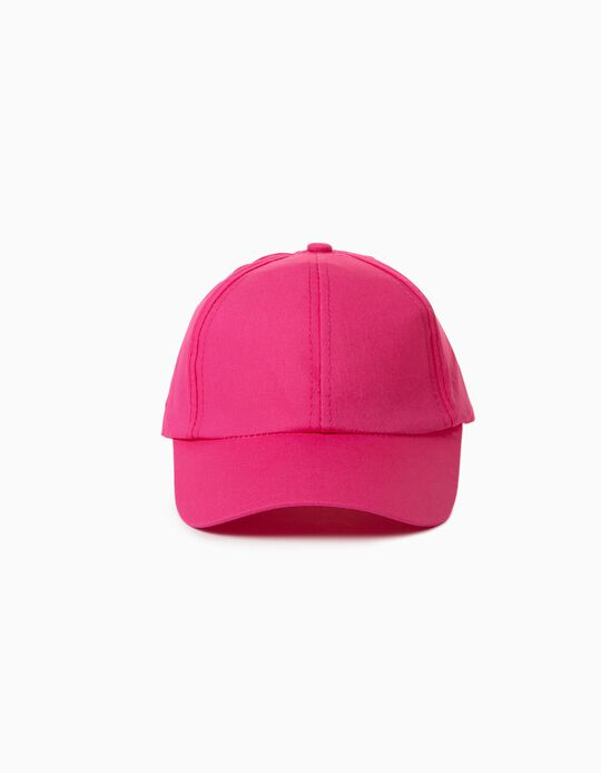 Cap with Little Bow for Children, Pink