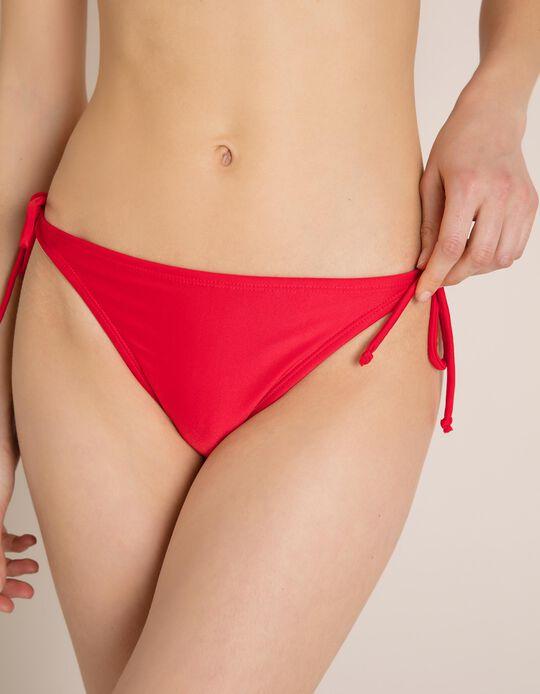 Cuecas Biquíni Vermelhas