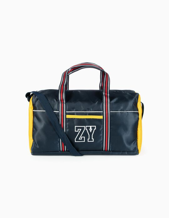 Sports Bag for Boys 'ZY', Dark Blue