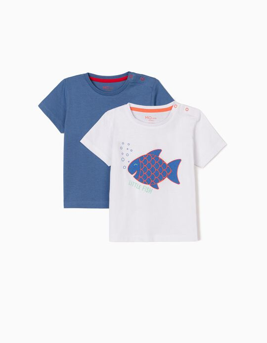2 T-shirts for Baby Boys