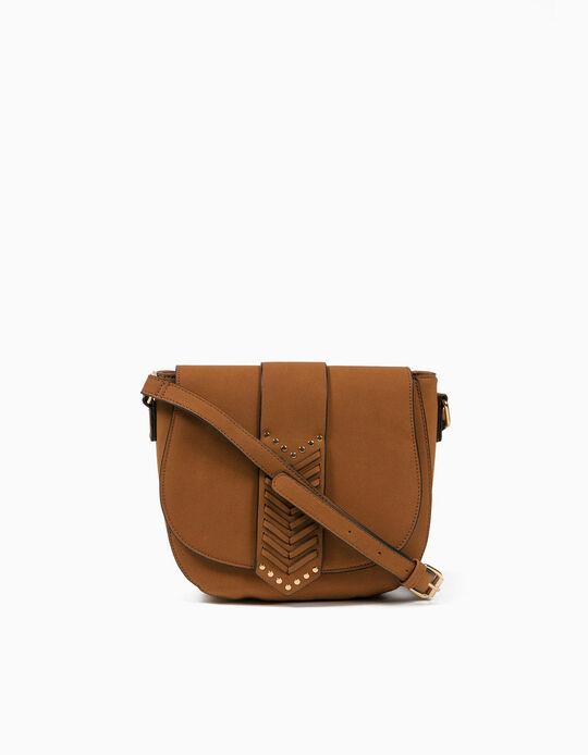 Faux Leather Crossbody Bag, Women