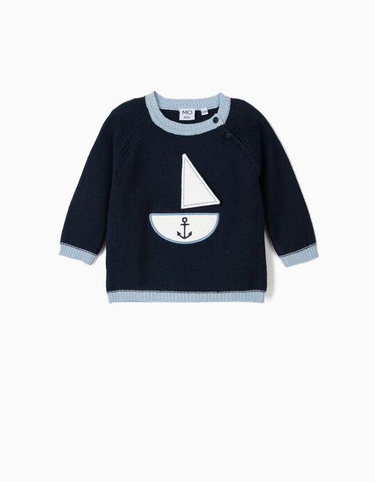 Camisola de malha Barco