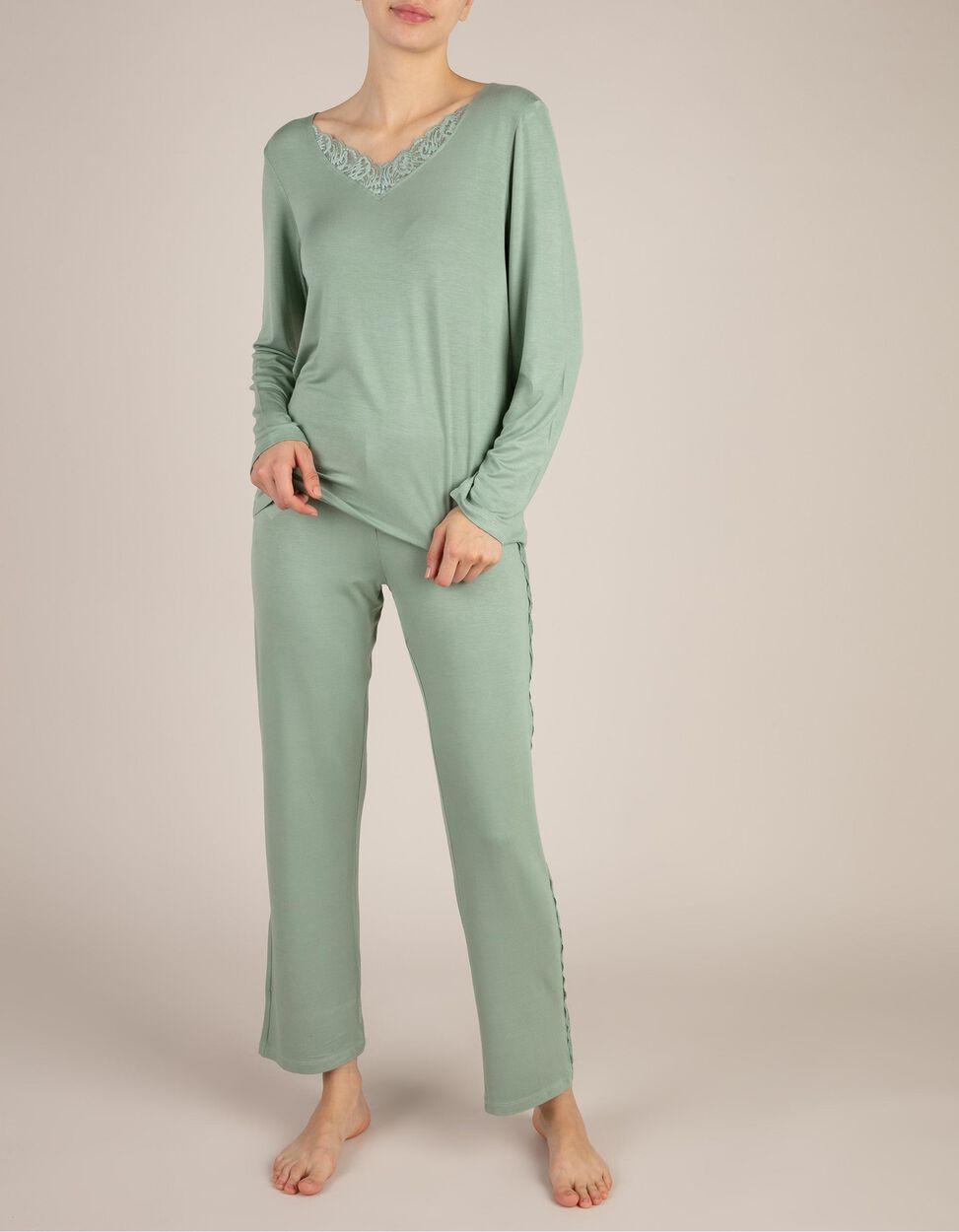 Pijama Com Renda