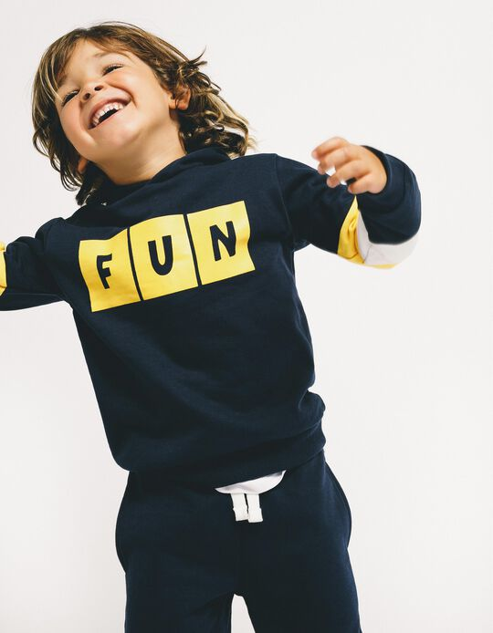 Tracksuit for Boys 'Fun', Dark Blue