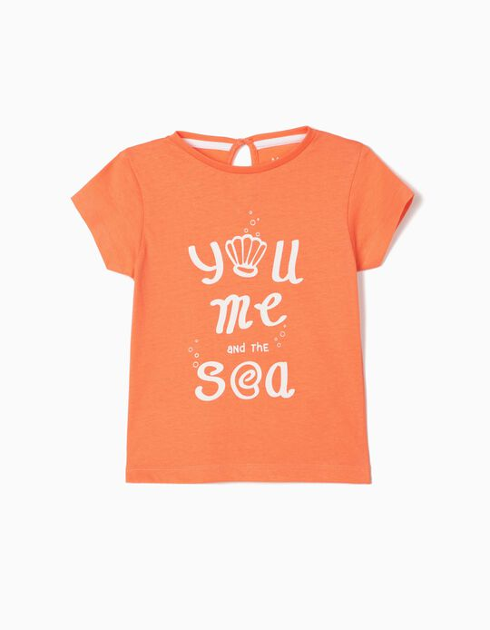 T-shirt for Baby Girls, 'Sea'