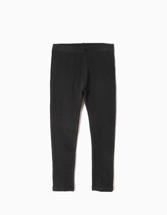Basic Leggings, Black