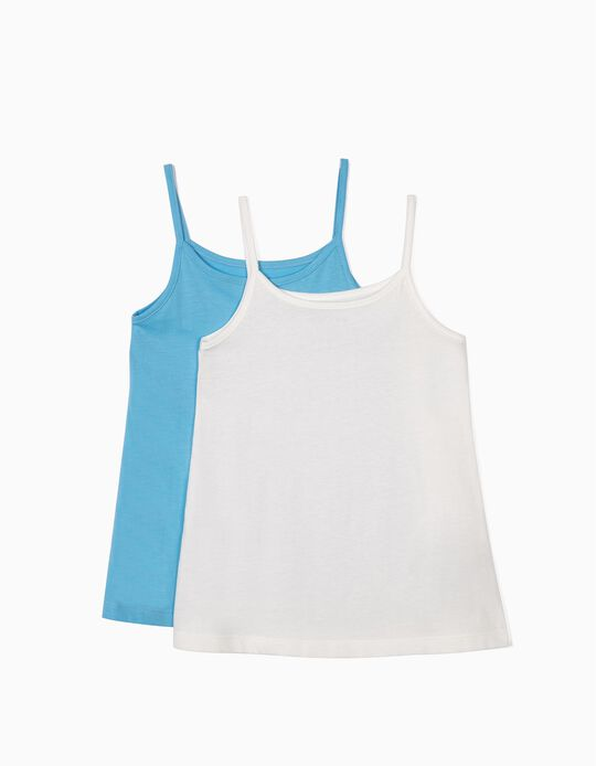 Pack of 2 plain tops