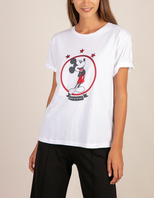 T-shirt Mickey Mouse estrelas