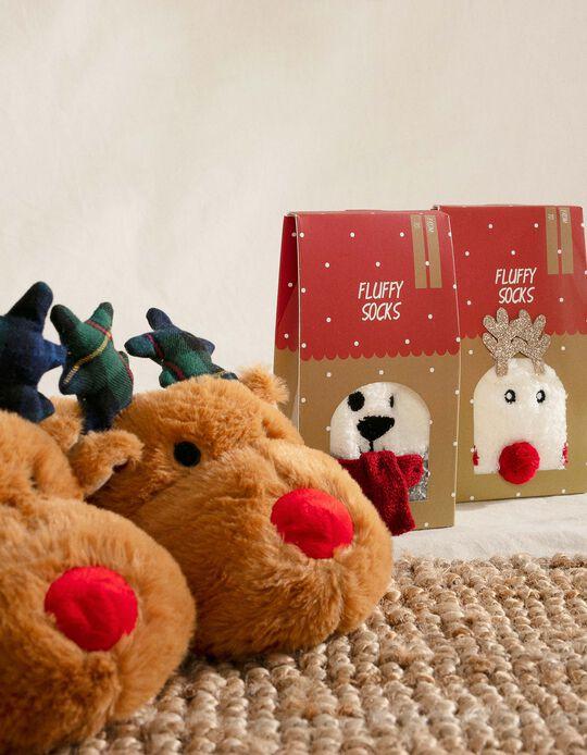 Slippers for Kids 'Christmas Reindeer'