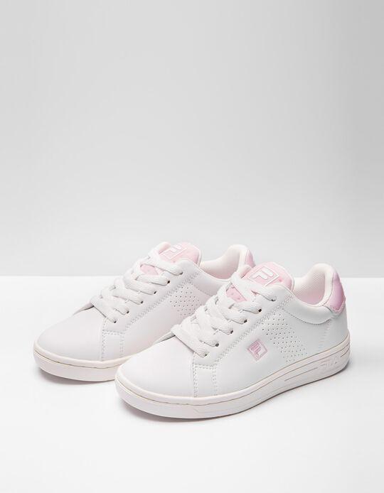 FILA Trainers, Girls, White/ Pink