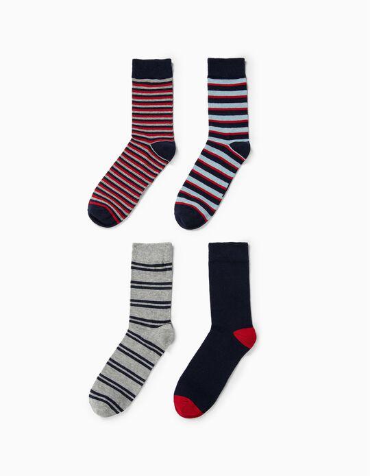 Pack de 4 pares de meias