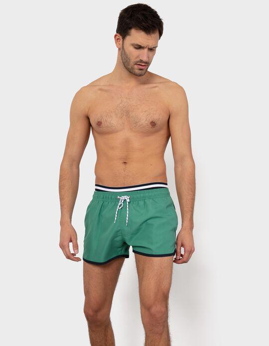 2-in-1 Effect Swim Shorts for Men