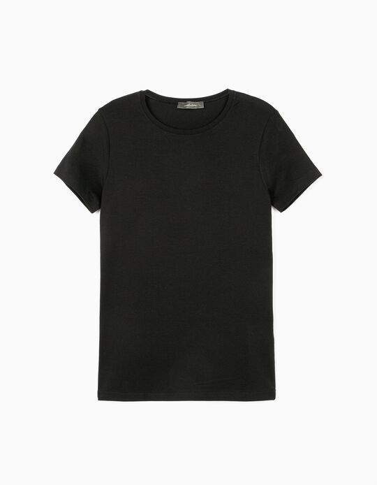 Basic Black T-shirt, Mo Essentials