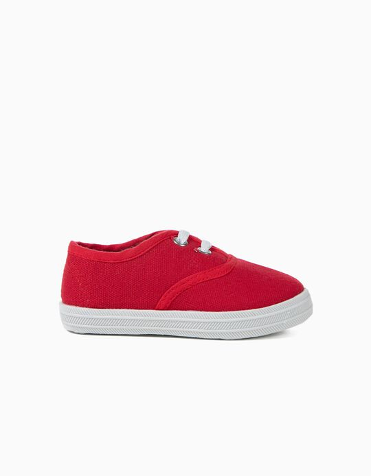 Plain Fabric Trainers