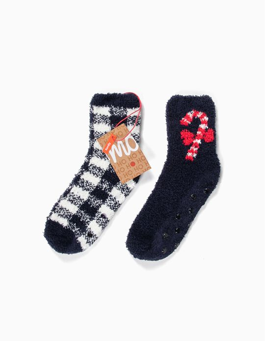 2 Pairs of Christmas Socks