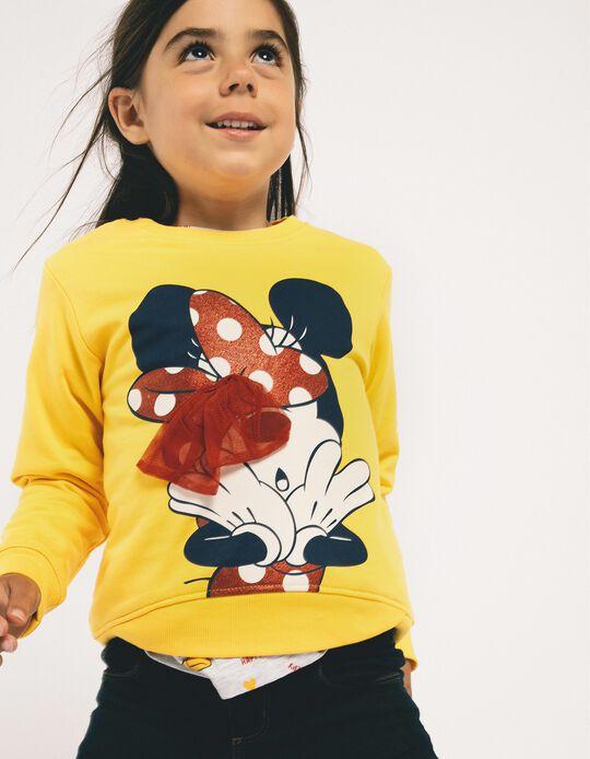 Sweatshirt for Girls 'Minnie', Yellow