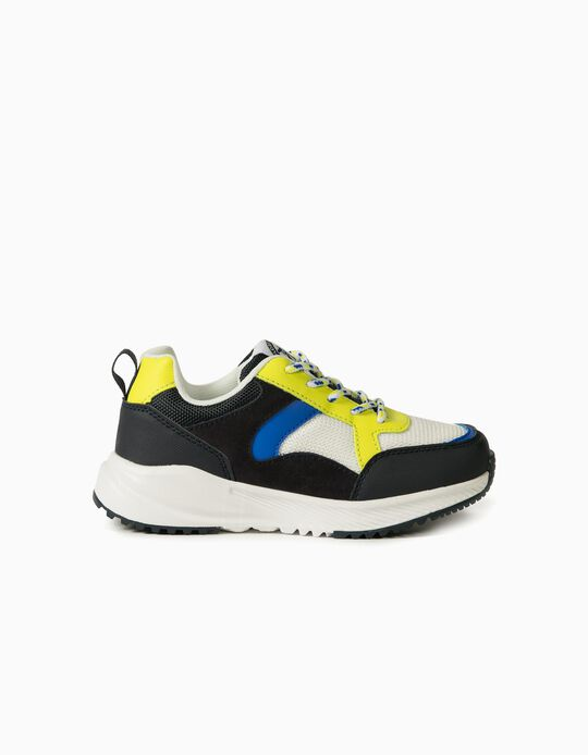 Trainers for Boys, Different Materials, 'ZY Superlight Runner', Multicoloured