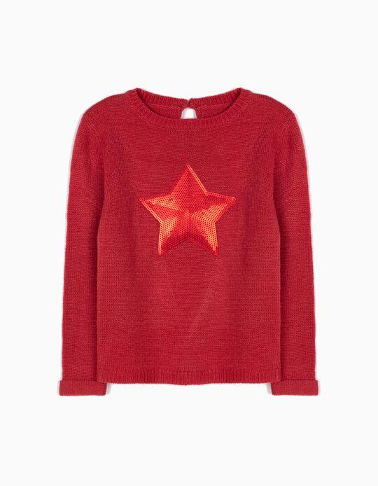 Camisola de Malha Star Rosa