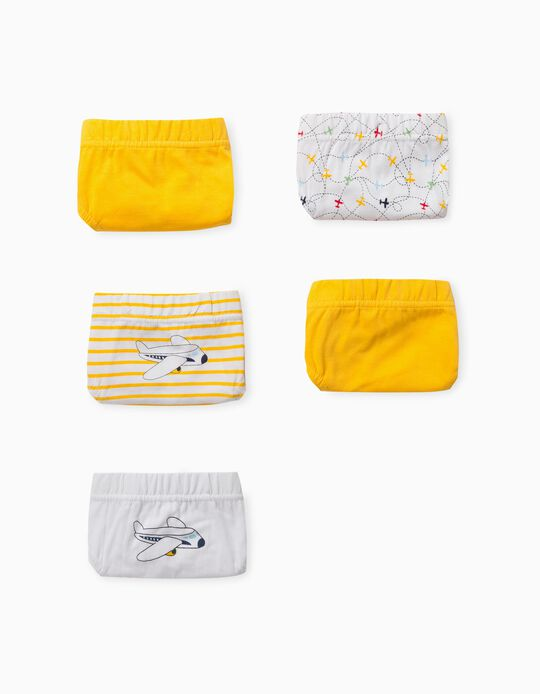 5 Pairs of Assorted Briefs for Boys