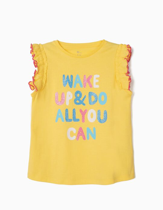 Do All You Can' T-Shirt for Girls