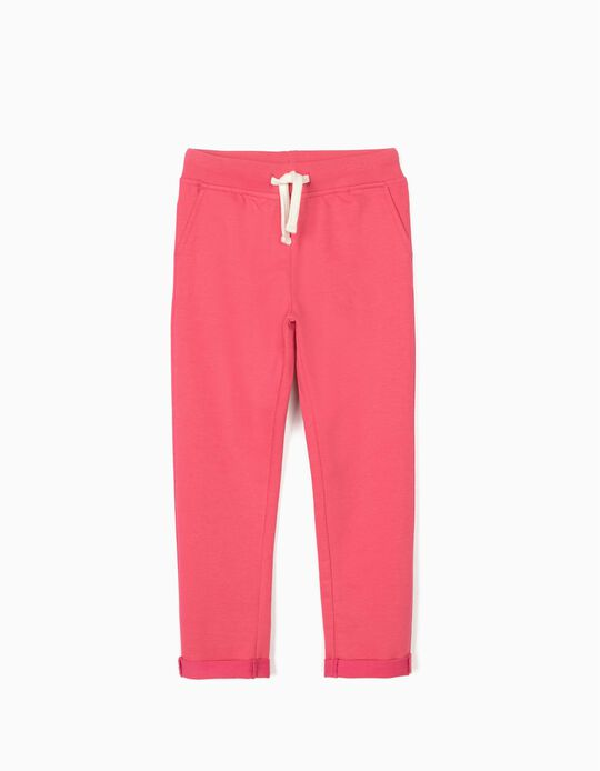 Joggers for Girls, Pink