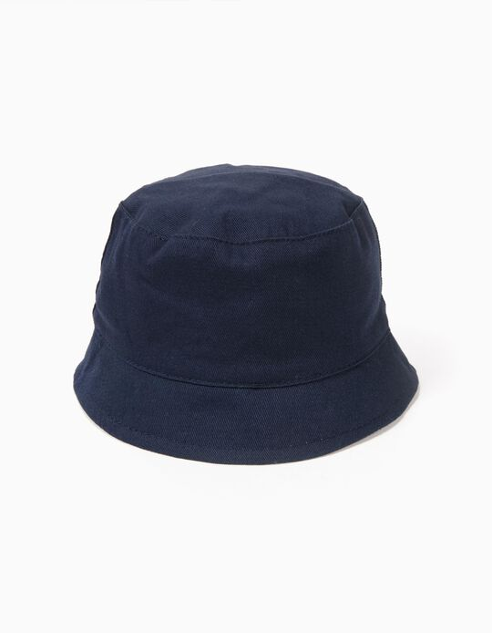 Chapéu para Bebé Menino, Azul Escuro