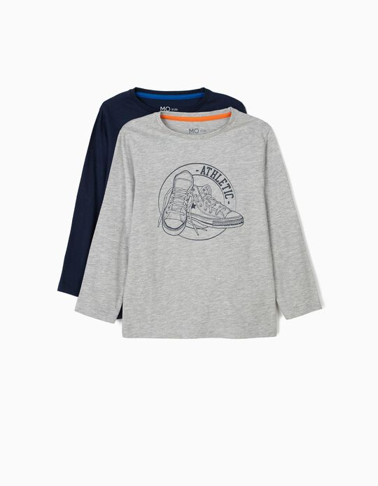 Conjunto de 2 t-shirts
