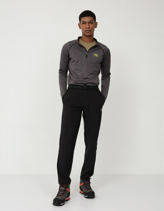 Trekking Techno Trousers, Men, Black