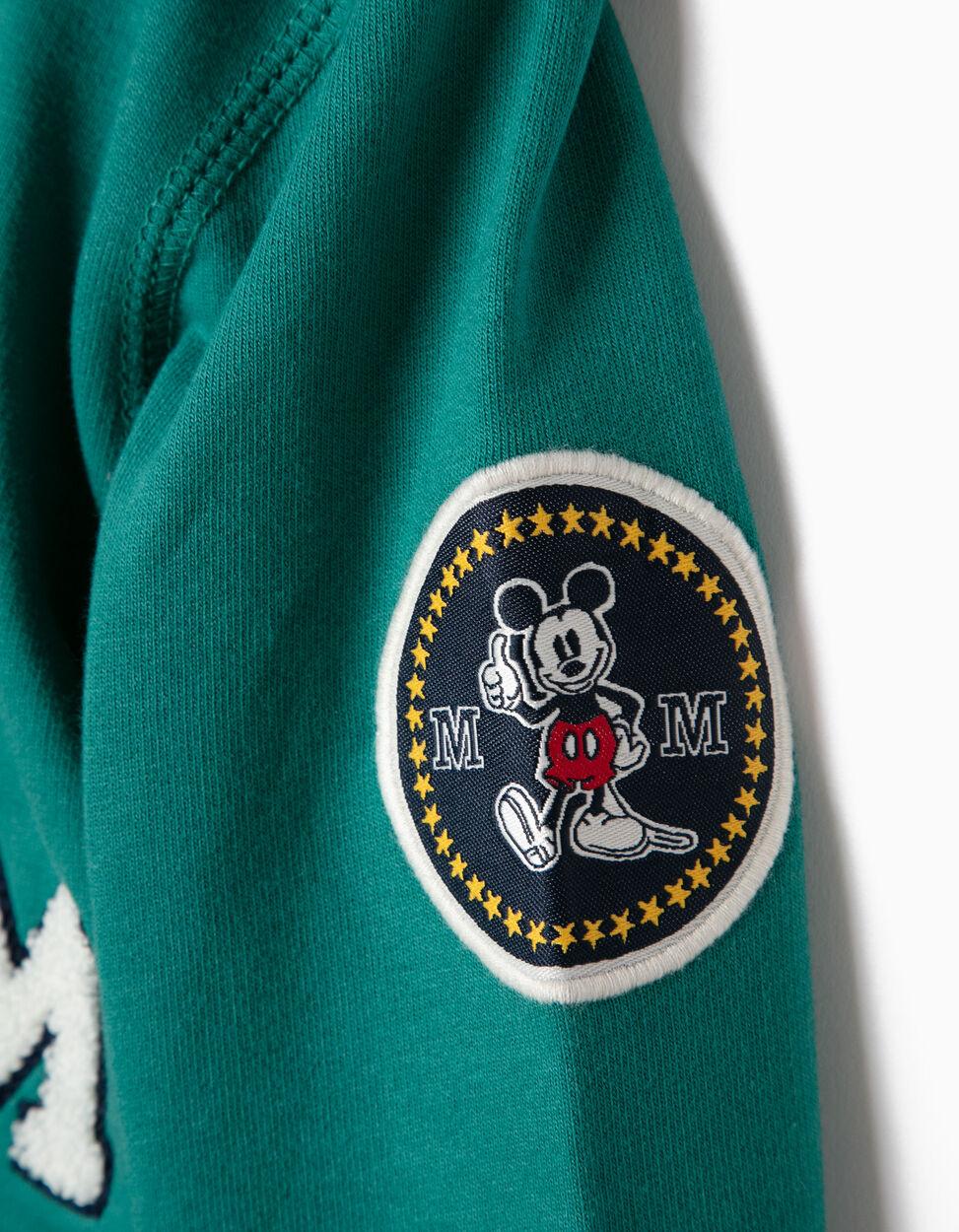 Sweatshirt com Capuz Mickey