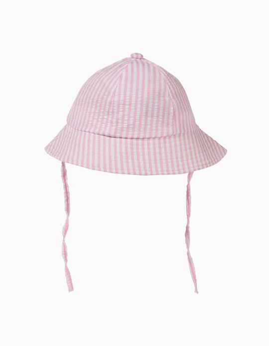 Striped Hat for Baby Girls
