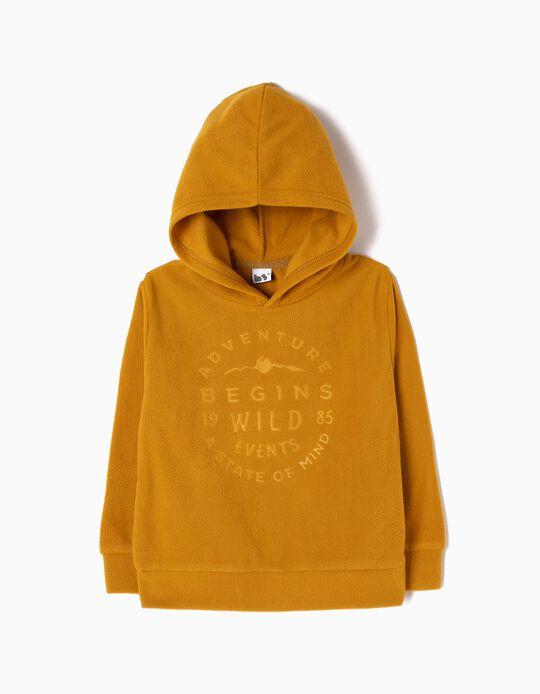 Sweatshirt Com Capuz Adventure Begins