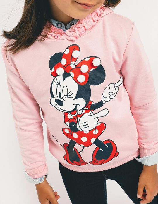 Hoodie for Girls 'Minnie', Pink