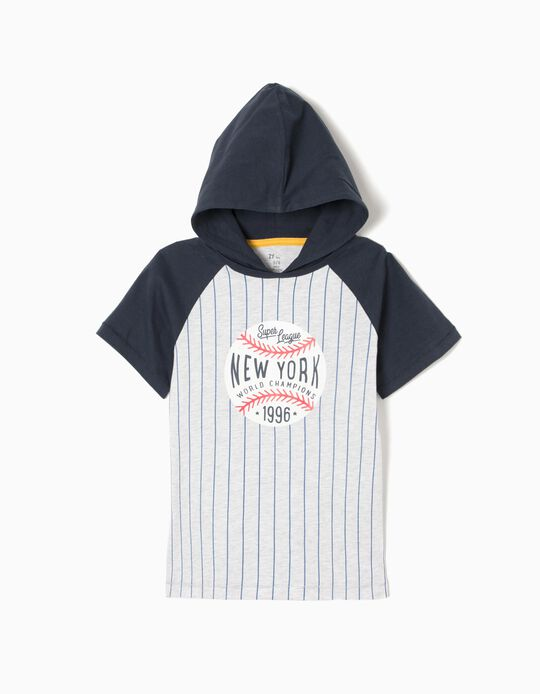 Hooded T-Shirt, Baseball