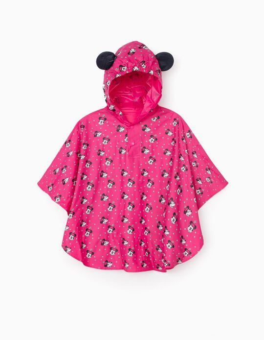 Capa de Chuva Poncho para Menina 'Minnie', Rosa